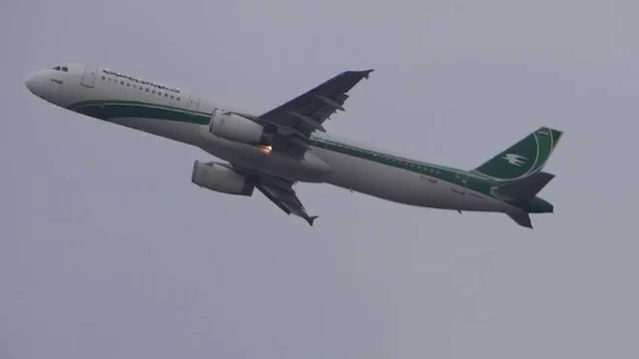 Iraqi airways airbus a321 yi agr take off frankfurt youtube iraqi airways airbus a321 yi agr take off frankfurt publicscrutiny Choice Image