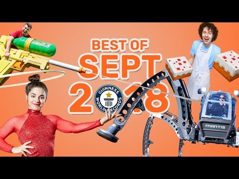 Best of September 2018 - Guinness World Records