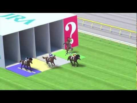 Hilarious Animated Horse Race