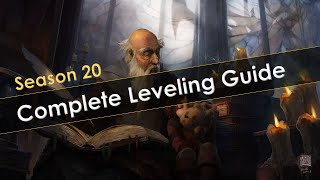 Diablo 3 Season 20 Leveling Guide