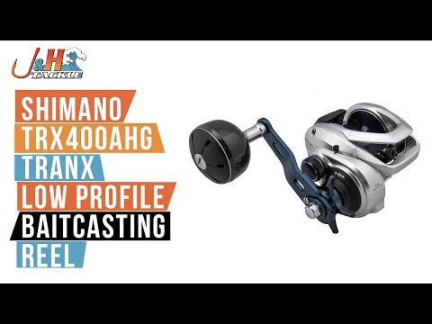 Shimano Tranx 400 TRX400AHG Low Profile Baitcasting Reel | J&H Tackle