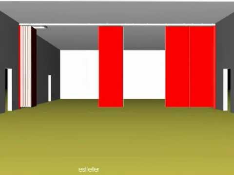 3d progettazione funzione pareti scorrevoli manovrabili for Progettazione mobili 3d