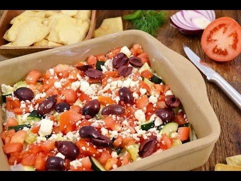 7 Layer Dip - Greek Layered Dip Recipe | RadaCutlery.com