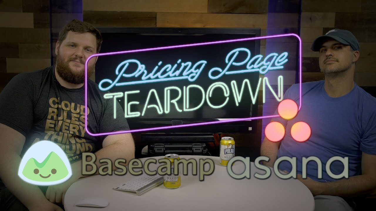 Simple vs Complex Pricing: Basecamp vs Asana | Pricing Page Teardown