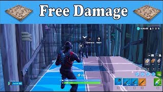 Get FREE Trap Damage! New Fortnite Strat!