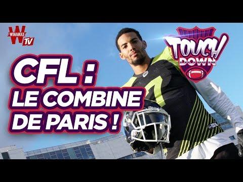 🏈 Touchdown : le CFL Combine débarque à Paris !