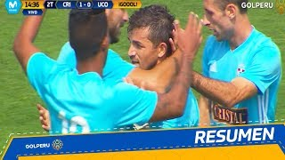 Resumen Sporting Cristal vs Unin Comercio 4-0