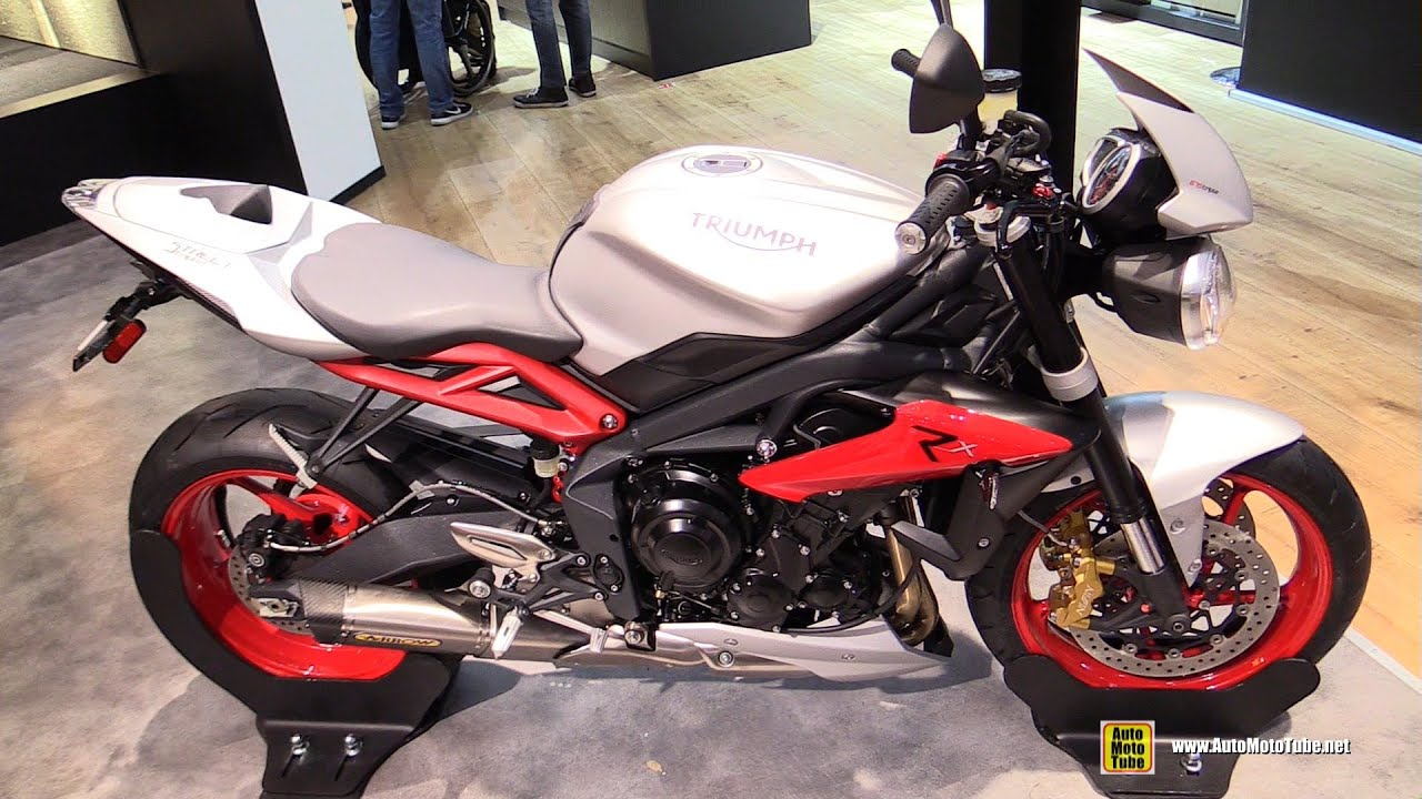 2016 triumph street triple 675 rx walkaround 2015 eicma milan youtube. Black Bedroom Furniture Sets. Home Design Ideas