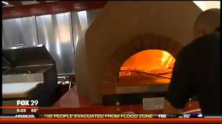 Check Out Our Wood Fired Pizza Truck, Ok Its Really A Trailer Called The Pizza Wagon