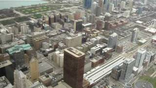 South View from 99th Floor Chicago Sears Tower April 15, 2009