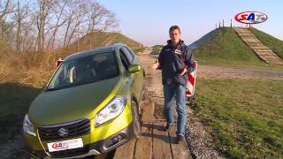 Suzuki SX4 S-Cross -- road test by SAT TV Show 02.03.2014.