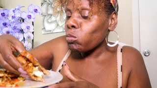 Soft Spoken Ramble ASMR Eating Sounds Sandwich | Cinnamon Eggs