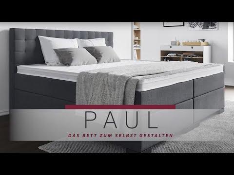 Boxspringbett Paul - Das Bett Zum Selbstgestalten!