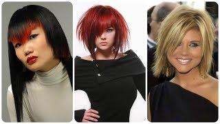 20 pomysłów na modne fryzury bob asymetryczny