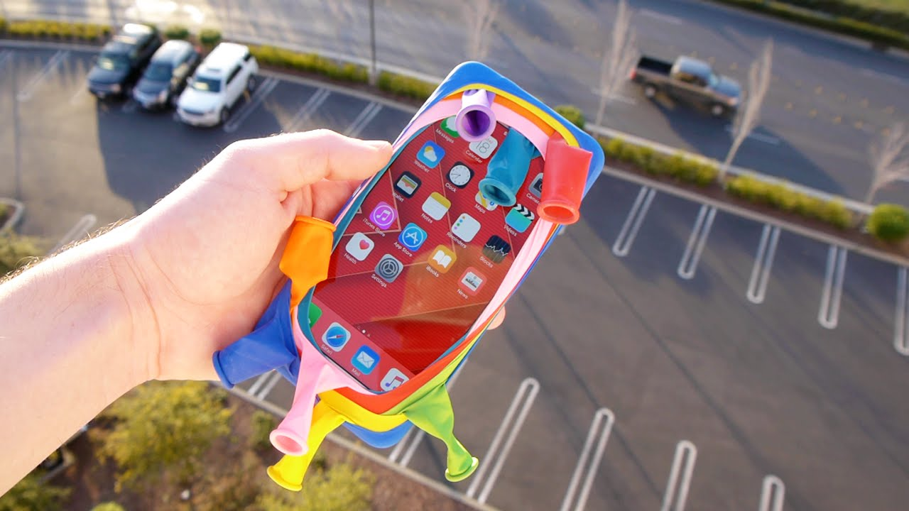 Can Balloons Protect An IPhone 6S Plus From 100 FT Drop Test