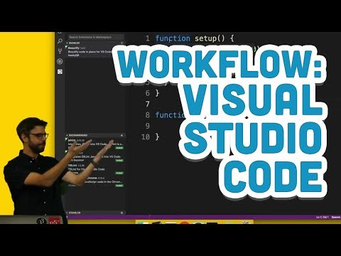 Workflow: Visual Studio Code