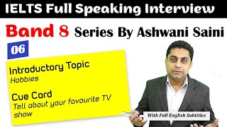 Band 8 IELTS Speaking   Cue Card - Favourite TV Show   IELTS Interview Sample