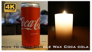 How to make Candle Wax Coca Cola | TUTORIAL | DIY