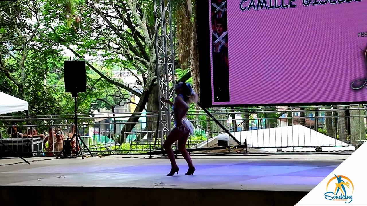 Camille Gisell Saada de Francia, Solista juvenil, Categoría Amateur  - Salsa Ladies 2019 ?