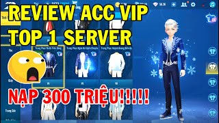 ZingSpeed Mobile   Review Acc Vip Top 1  Server - Nạp 300 Triệu
