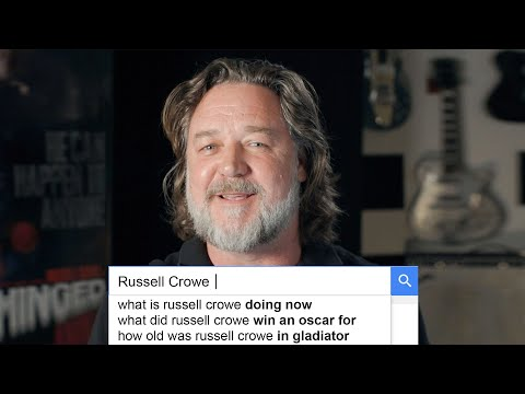 Russell Crowe Answers the Web's Most Searched Questions | WIRED