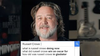 Russell Crowe Answers the Web's Most Searched Questions   WIRED
