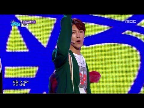 [HOT]  NTB - DRAMATIC , 엔티비- 드라마틱  Show Music core 20180602