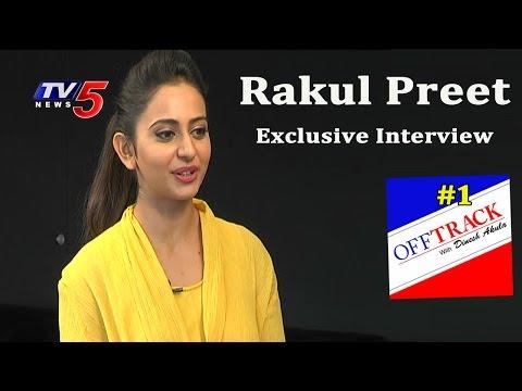 Bindaas with Rakul Preet   Personal Life & Ambitions   Off-Track #1   TV5 News