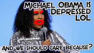 Michelle Obama is Depressed LOL