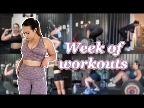 MY FULL WEEK OF WORKOUTS (weight training + healthy meals) - SusieJTodd