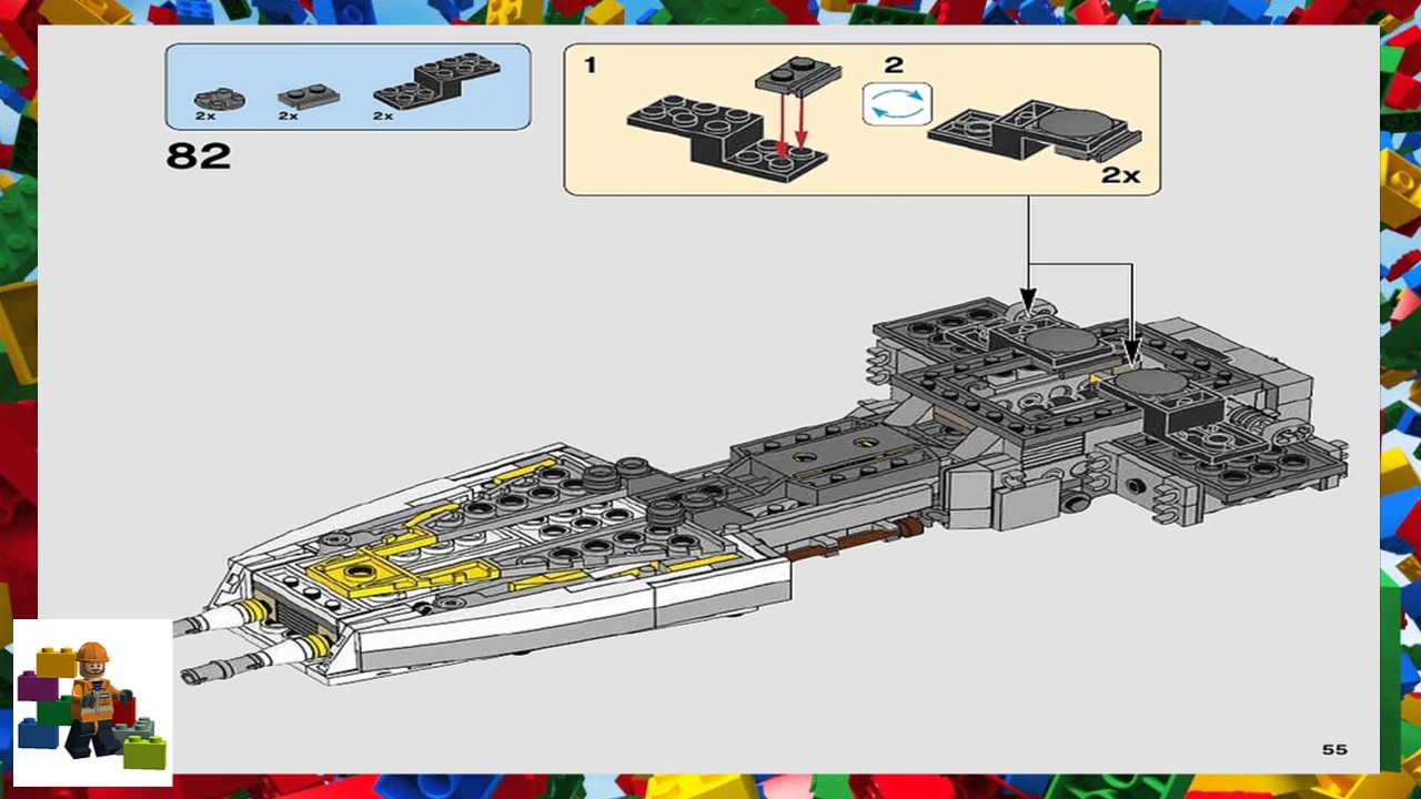 Lego Instructions Star Wars 75172 Y Wing Starfighter Youtube