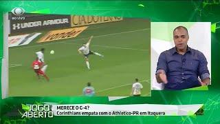 Denilson: Corinthians joga feio, mas está aí