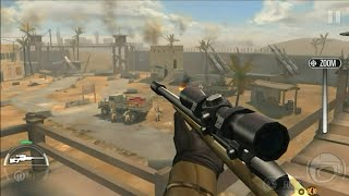 Top 4 best offline shooting sniper games android less than 50 mb #1