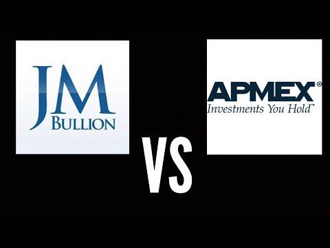 Jm bullion versus apmex
