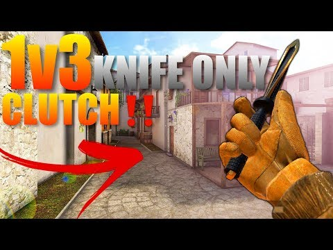 StandOff 2 1v3 Clutch‼️(Winning Defuse with Only a Knife)