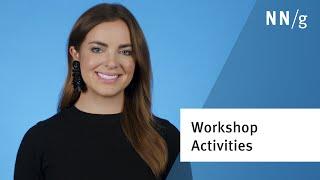 7 Fundamental Activities for UX Workshops