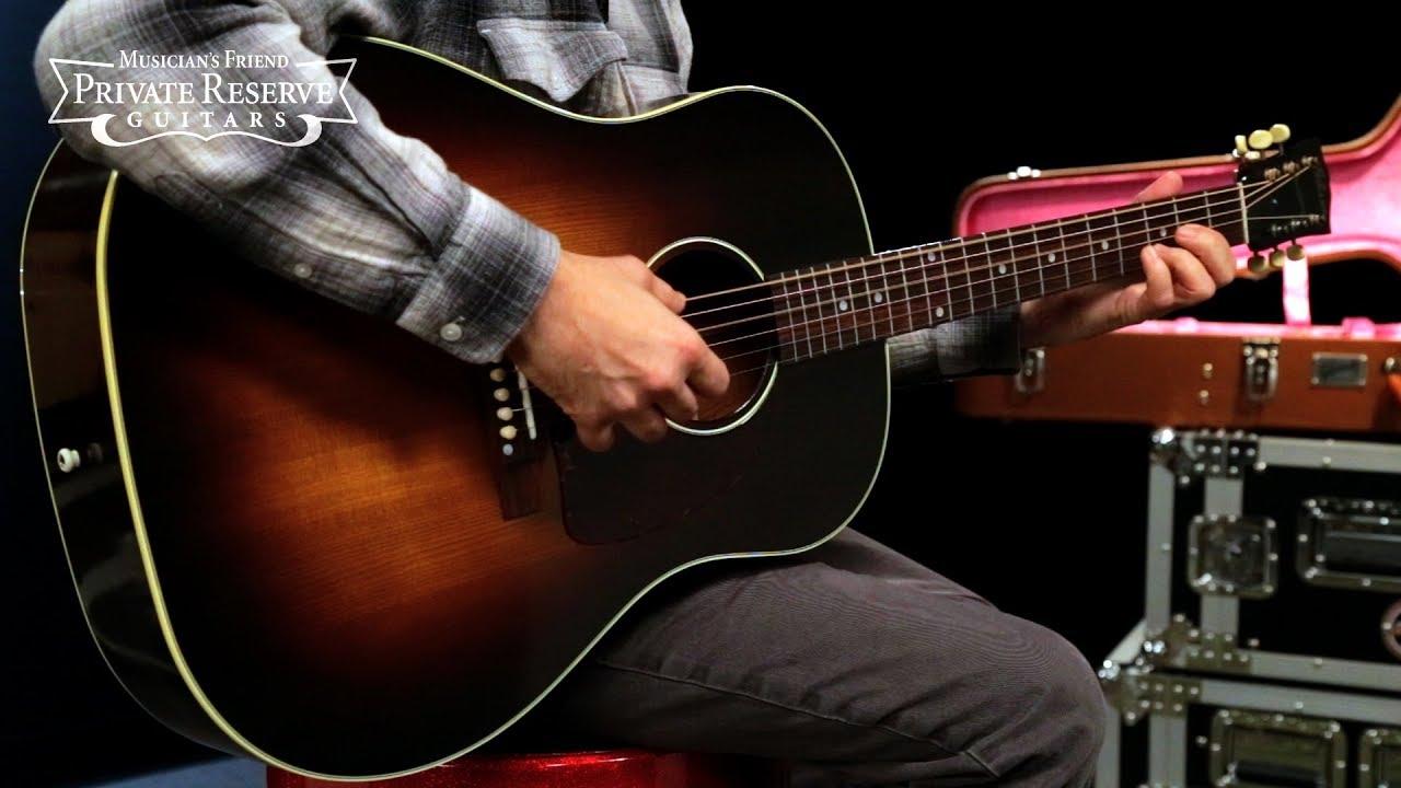 ffa91e665c1 Gibson 2018 J-45 Vintage Acoustic Guitar - YouTube