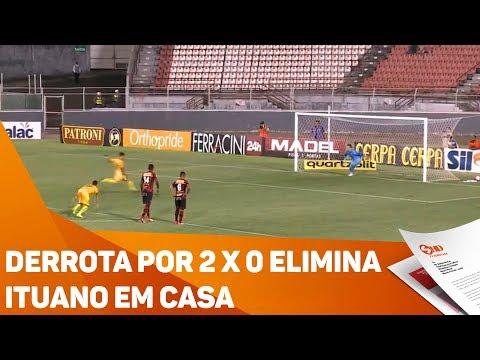 Derrota por 2 X 0 elimina Ituano em casa - TV SOROCABA/SBT