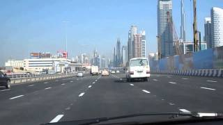 Rolls Royce accident and drive to Dubai Mall/ Burj al arab