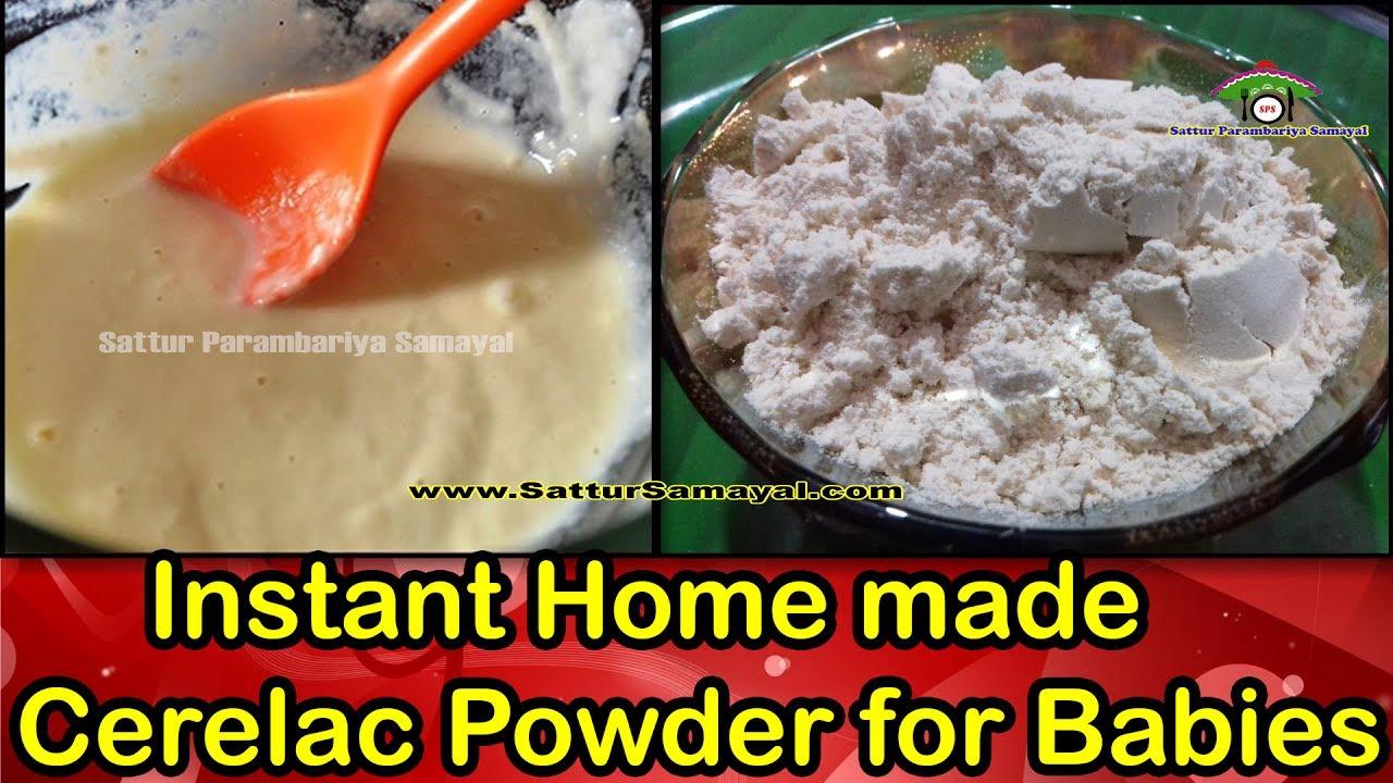 how to make cerelac powder at home