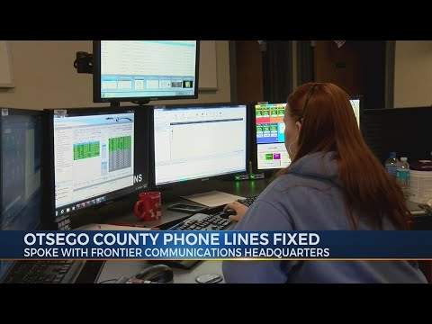 Otsego County Phone Lines Fixed