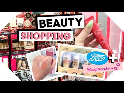 Sunday Shopping / Boots + Superdrug
