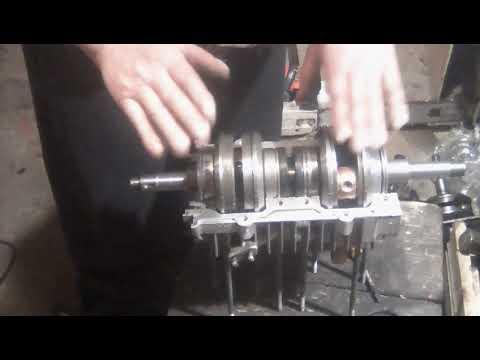 Сборка двигателя буран