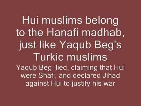 Turkic massacres against Hui muslims during the Muslim Revolt (1862-1877)