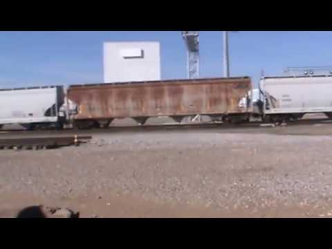 BNSF General Freight Tulsa, OK 11/6/16 vid 3 of 10