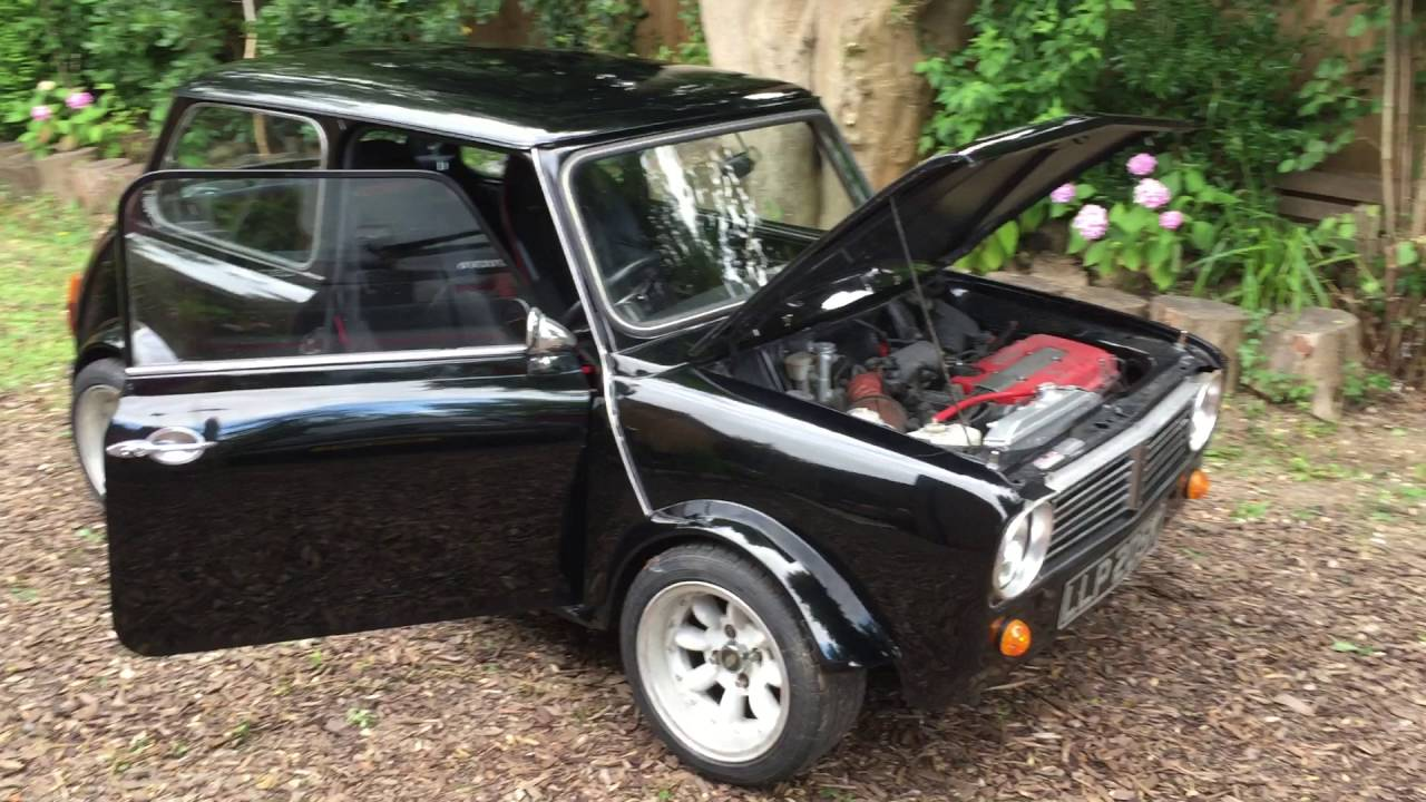 For Sale 1972 Mini Clubman With 16 Honda Vtech Conversion Youtube