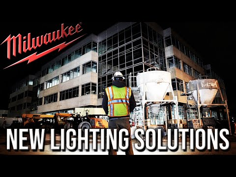 NEW Milwaukee Tools Jobsite Lighting Solutions That Will LIGHT UP YOUR LIFE!