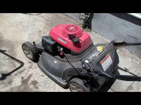 Honda hrb216 lawn mower repair, blade clutch, Alameda Repair Shop