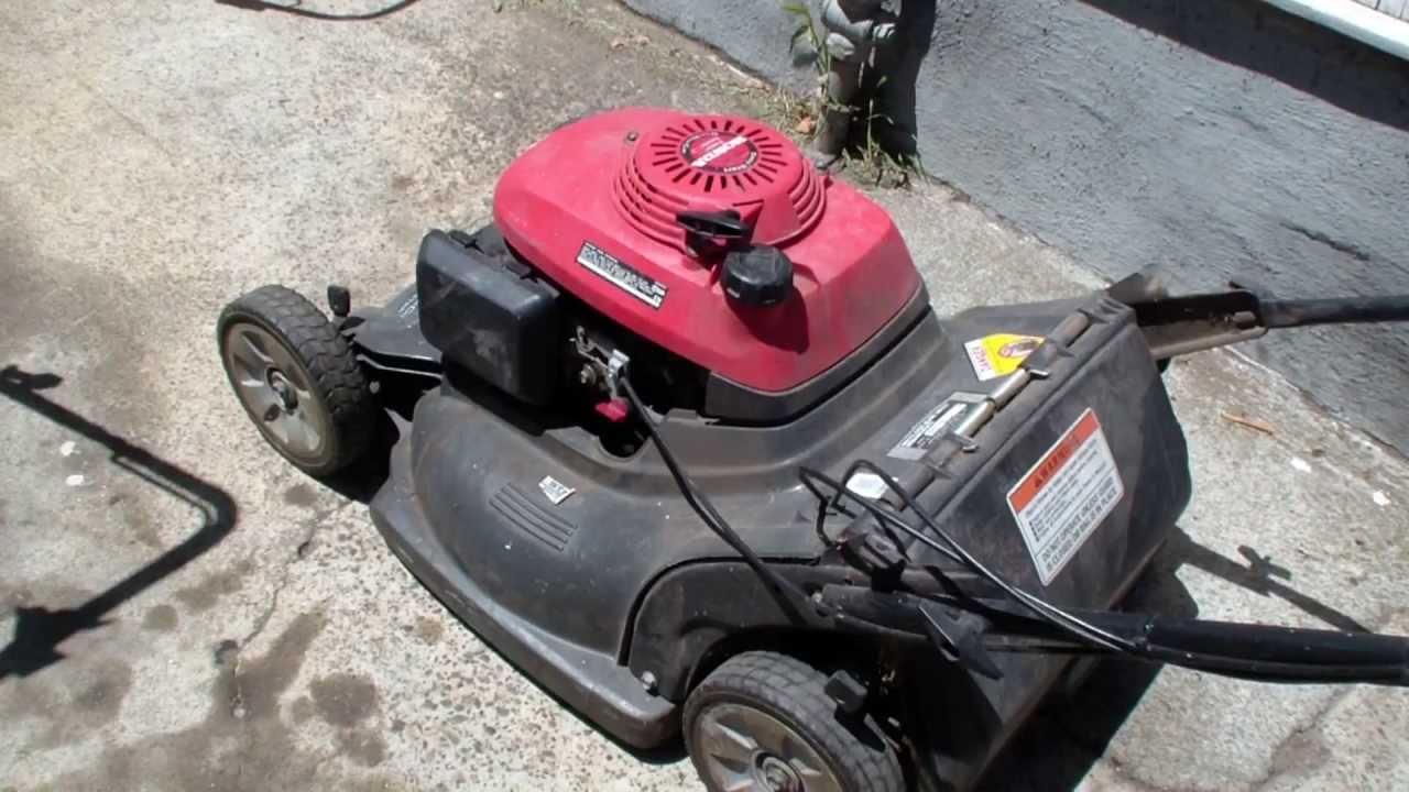hight resolution of honda hrb216 lawn mower repair blade clutch alameda repair shop youtube