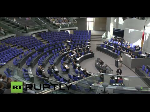 LIVE: German Parliament to vote on new security collective to replace NATO